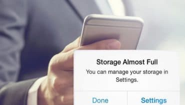 iPhone Storage is Full Solution